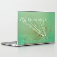 mac Laptop & iPad Skins featuring Mac Snob by Descry