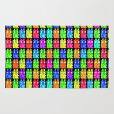 Pixel Gummy Bears Rug