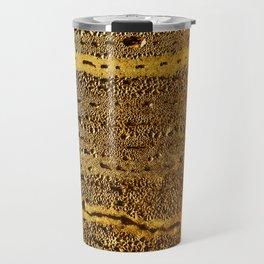 golden abstract Travel Mug