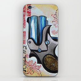Rule #2 the Double Tap  iPhone Skin