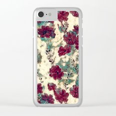 Floral Dreams 10 Clear iPhone Case