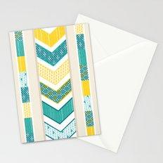 Sunshine Chevron Stationery Cards