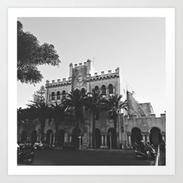 Ciutadella City Hall Art Print
