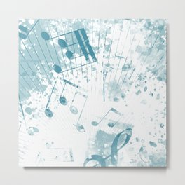 Musical Atmosphere 3 Metal Print