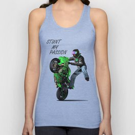 Stunt My Passion Unisex Tank Top