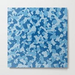 Camouflage Ethereal Crystal Metal Print
