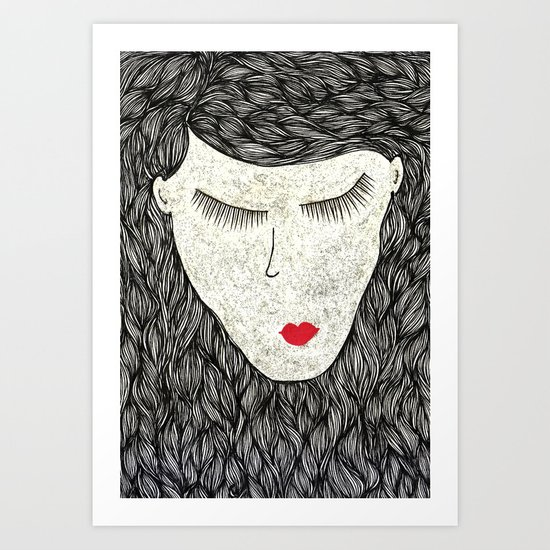 that all elusive peace of mind Art Print