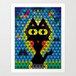 Mosaic Whim Art Print
