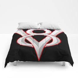V-8 symbol Comforters