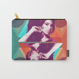 AmyWinehouse LowPoly Collection Carry-All Pouch
