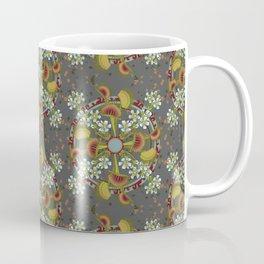 Venus Flytrap Mandala_Dark Grey Coffee Mug