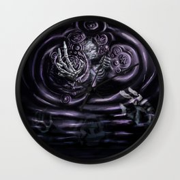 Drowning in the Void Wall Clock