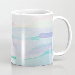 Pastel abstract landscape Coffee Mug