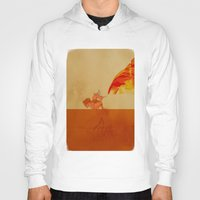 airbender Hoodies featuring Avatar Roku by daniel