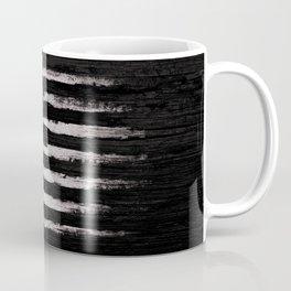 American flag White Grunge Coffee Mug
