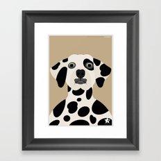Dálmata Framed Art Print