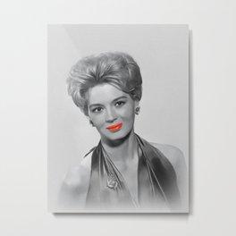 Angie Dickinson, Hollywood Icon Metal Print