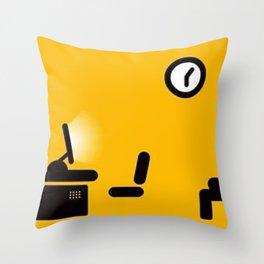 django art test Throw Pillow