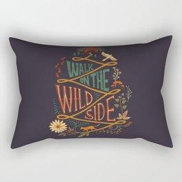 Walk on the Wild Side Rectangular Pillow