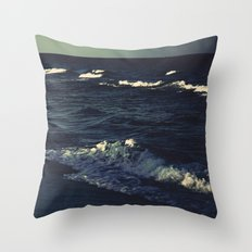 Night's Ocean Throw Pillow