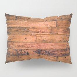 Wooden Floor Planks Pillow Sham