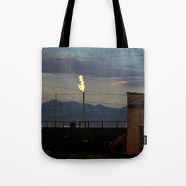 Morning Flame Tote Bag