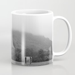 The Mirror Box and the Mountain Coffee Mug