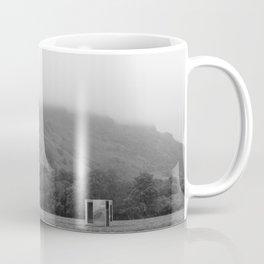 The Mirror Box and the Mountain Coffee Mug