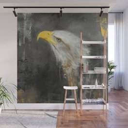 The Mighty Bald Eagle Wall Mural