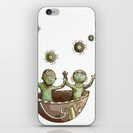 My little Quimbayas iPhone Skin