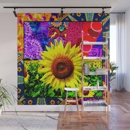 Sunflower Trip Wall Mural