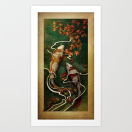 Autumn Kois Art Print