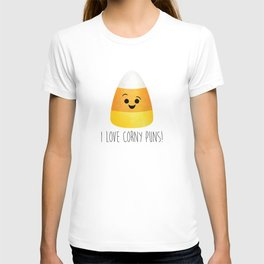 I Love Corny Puns! T-shirt