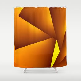 GeoSpin 2 Shower Curtain