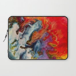 Abstract fire Laptop Sleeve