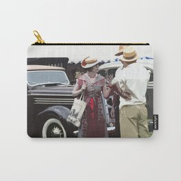 At The Races, 1937 Style Carry-All Pouch