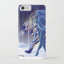 Tigress Walker iPhone Case