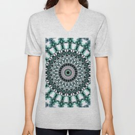 circle pearl Unisex V-Neck