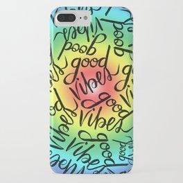 Good Vibes - Rainbow Pride iPhone Case