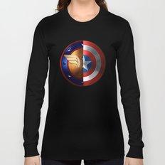Wonder Woman/Captain America Long Sleeve T-shirt