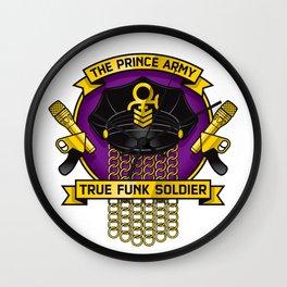 TPA Crest - True Funk Soldier (Reverend design #1) Wall Clock