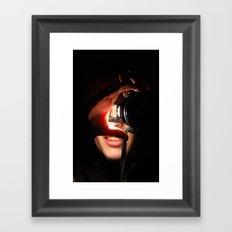 How the World Looks at Me. Framed Art Print