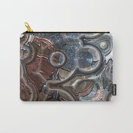 Abstract Coins Carry-All Pouch