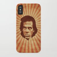 nick cave iPhone & iPod Cases featuring Cave by Durro