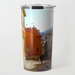 End of Day in Menton Travel Mug