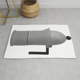 Cupole by Alessi. Vintage Italian coffee maker. Rug