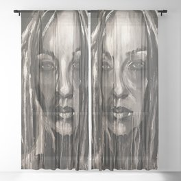 Fighter Sheer Curtain