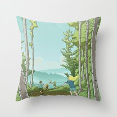 Pride of Place Throw Pillow