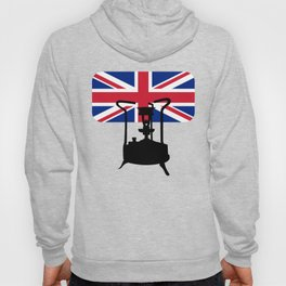 Union Jack and Paraffin pressure stove Hoody