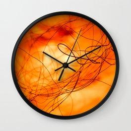Hot fire 1 Wall Clock